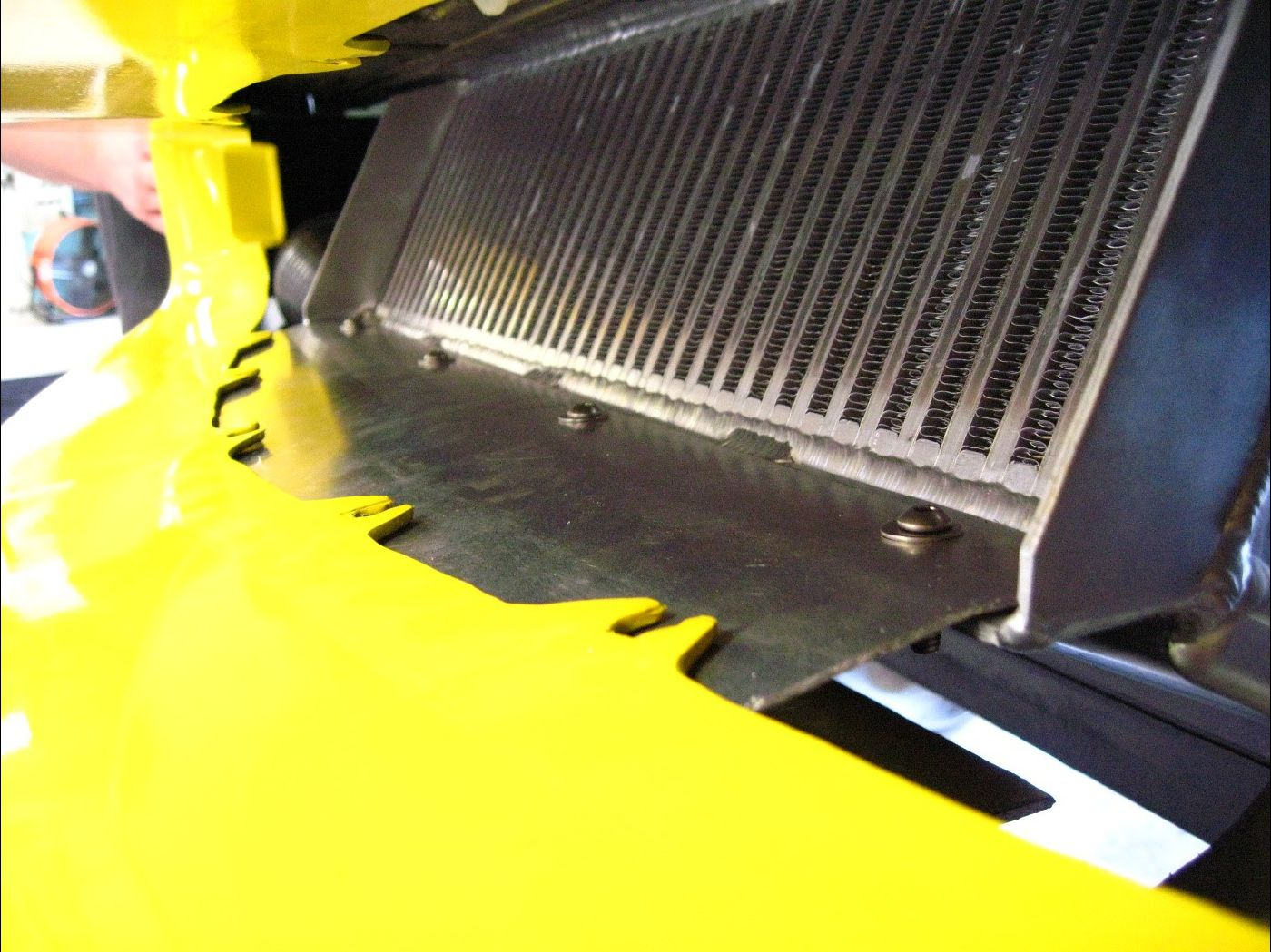 A&A C6 Supercharger RAMAIR Intercooler