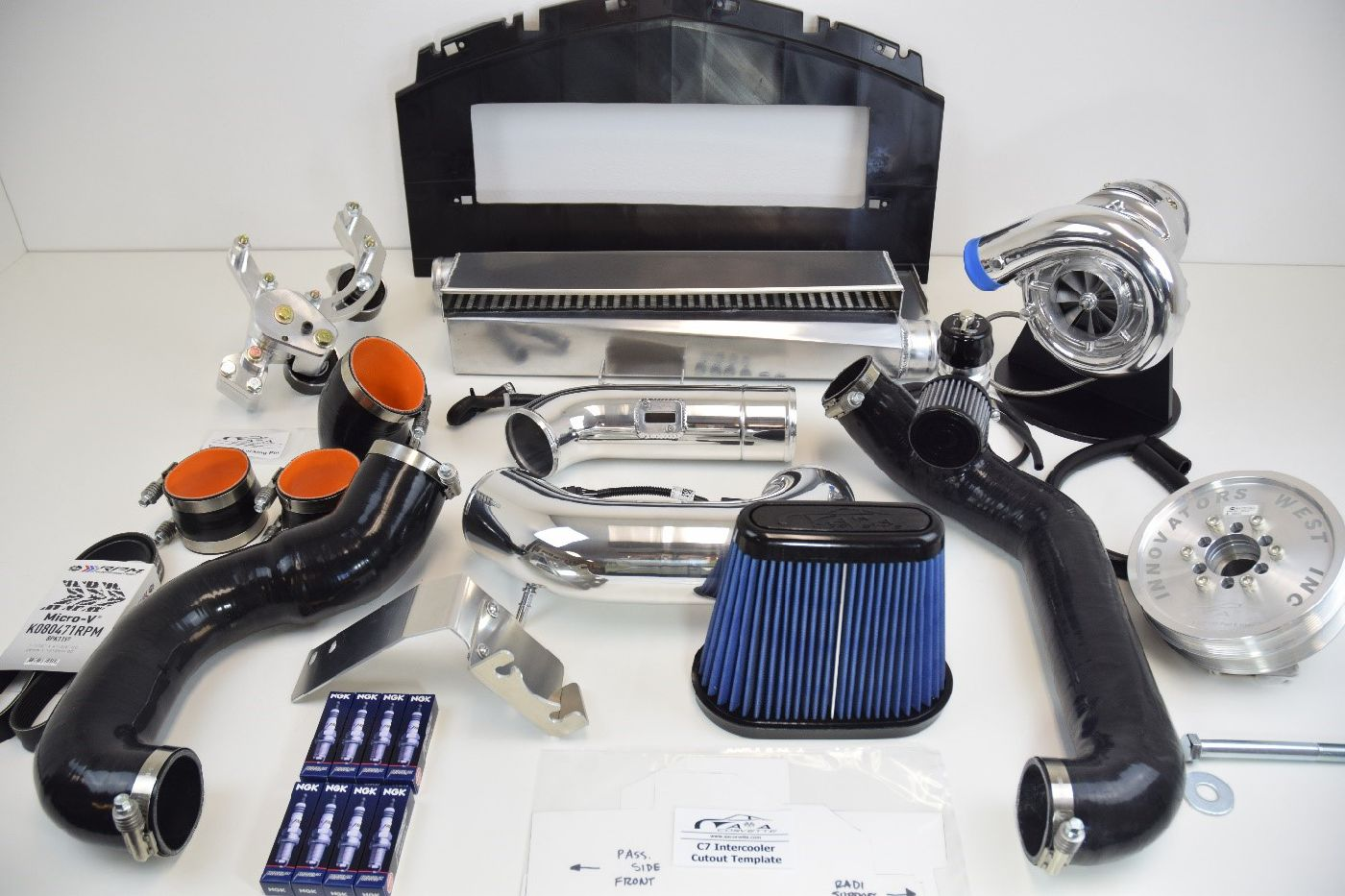 A&A SUPERCHARGER SYSTEM FOR C7 CORVETTE