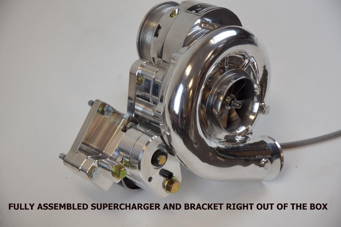 C7 Supercharger Installation
