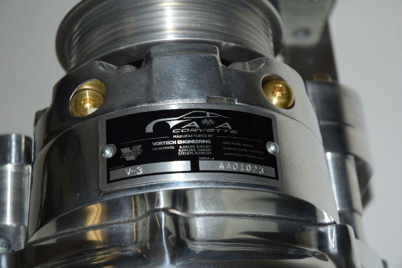 A&A Superchargers Vortech Head Unit for C5
